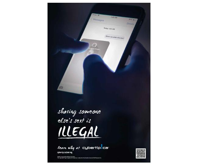 Illegal (Non-Consensual Distribution of Intimate Images) Poster