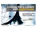 "Image: MissingKids.ca ""Worst Nightmare"" Campaign Poster"