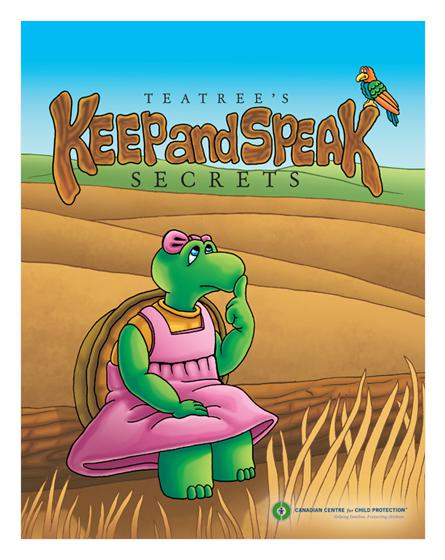 Teatree's Keep and Speak Secrets Storybook
